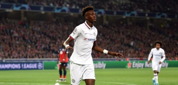 Tammy Abraham celebrando un gol con el Chelsea. / trome.pe