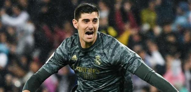 OPINIÓN: Thibaut Courtois, el rey bajo palos del Santiago Bernabéu. Foto: Goal.com