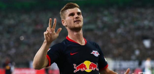Werner pone en riesgo el tridente ofensivo del Liverpool
