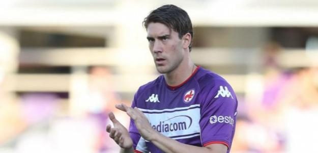 Dusan Vlahovic se quedará esta temporada en la Fiorentina. Foto: Getty