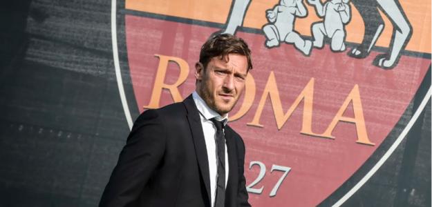 Francesco Totti, con la Roma / twitter