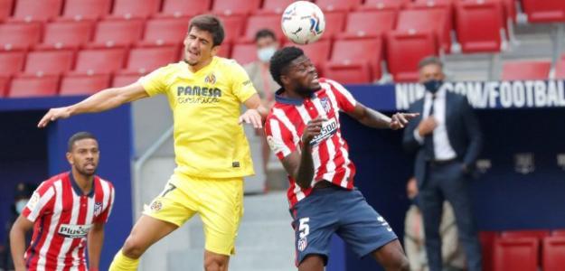 Las tres opciones del Atlético para sustituir a Thomas. Foto: Fichajes.com