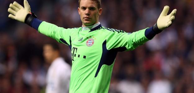 Manuel Neuer durante un encuentro con el Bayern de Munich/ Lainformacion.com