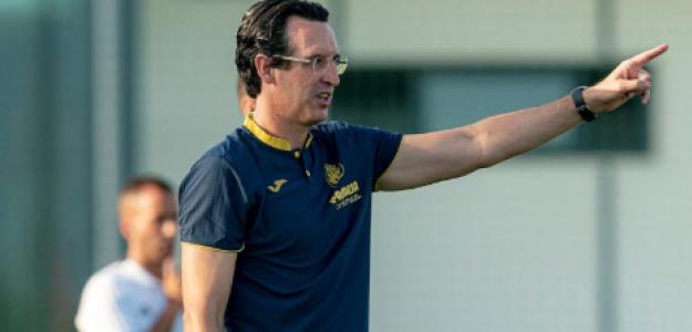 """Unai Emery ya implanta su salida de balon en el Villarreal """"Foto: Mundo Deportivo"""""""