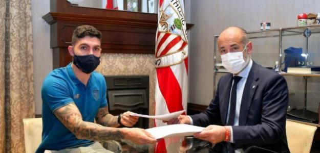 Unai Núñez renueva con el Athletic Club. Foto: athletic.elcorreo.com