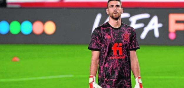 """¿Debería ser Unai Simón el portero titular de la Selección Española? """"Foto: Marca"""""""