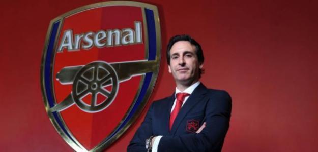 Unai Emery durante su presentación como entrenador del Arsenal / arsenal.com.
