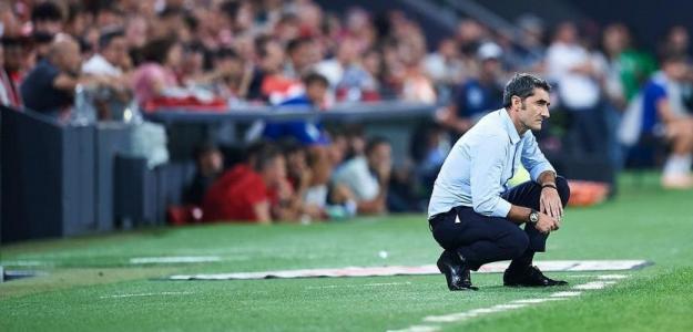 Valverde y su nula capacidad para sacar partido a sus estrellas. Foto: Twitter
