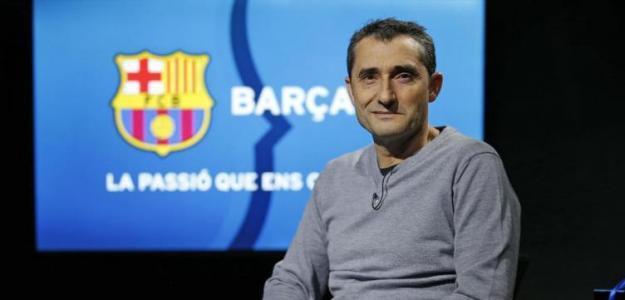 Ernesto Valverde, entrenador del Barça / FC Barcelona.