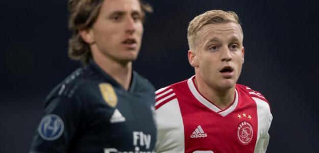 El Real Madrid no necesita a Donny Van de Beek / Ajax de Amsterdam