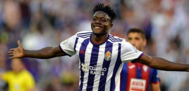 Salisu en un partido con el Valladolid. / grada3.com
