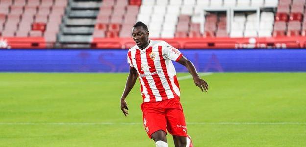 Umar Sadiq debe salir este verano de Almería. Foto: Getty