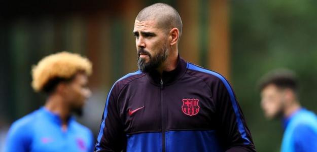 Víctor Valdés volverá al Barcelona si gana Laporta / okdiario.com