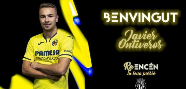 Imagen presentación de Ontiveros / Twitter: @VillarrealCF
