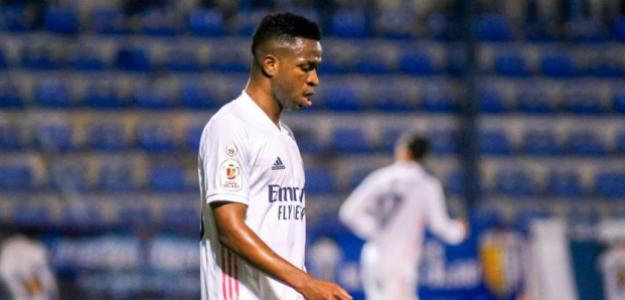 El Real Madrid se cansa de Vinícius y lo pone en venta