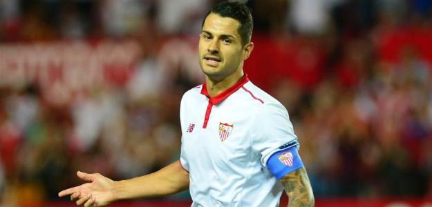 Vitolo durante su etapa en el Sevilla FC (Youtube)