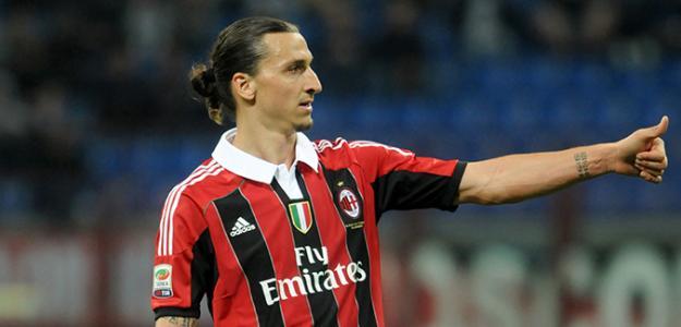 Zlatan Ibrahimovic / AC Milan.