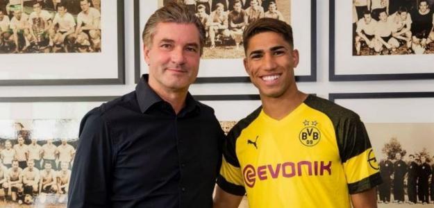 Zorc y Achraf / BVB.