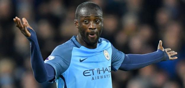 Yayá Touré con la camiste del Manchester City / mcfc.com