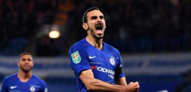 Zappacosta celebrando un gol con el Chelsea / talkchelsea.net