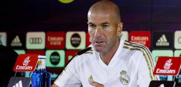 Zidane en una rueda de prensa. / rtve.es