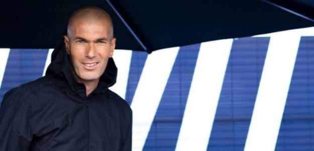Zidane deja caer cual será su delantera en el Real Madrid / Elmundo.es
