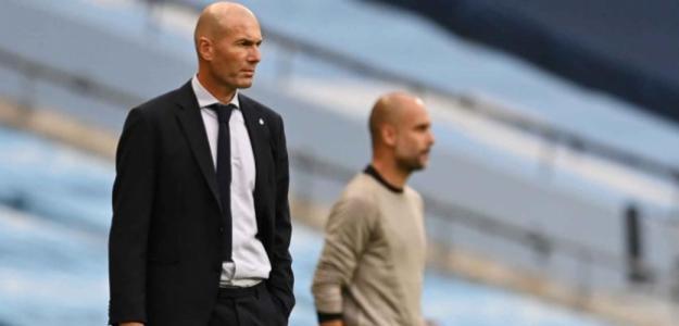 Los errores de Zinedine Zidane contra el Manchester City | FOTO. REAL MADRID