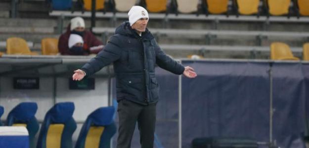 Zidane habló de su futuro luego de la derrota ante el Shakhtar