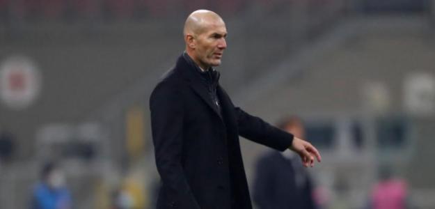 Zinedine Zidane, el principal señalado de la derrota en Ucrania