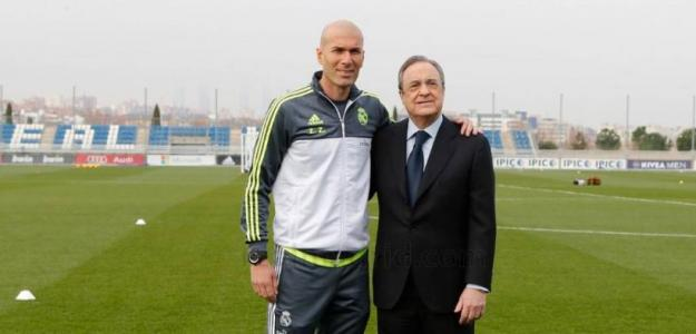 Zidane y Florentino, la temporada pasada (Real Madrid)