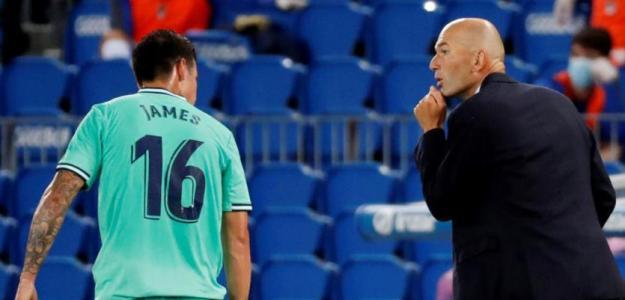 James y Zidane, situación sin retorno.