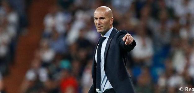 Zidane, con el Madrid /twitter
