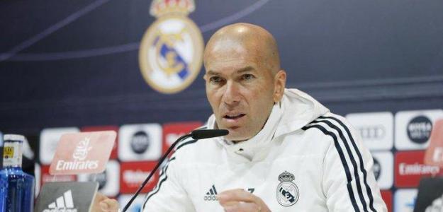 Zidane, en rueda de prensa / twitter.