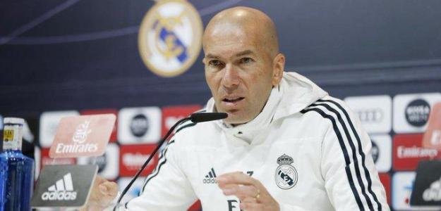 La nueva sentencia de Zidane a Bale y James / Twitter