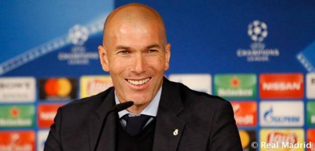 Zinedine Zidane, entrenador del Real Madrid / Real Madrid
