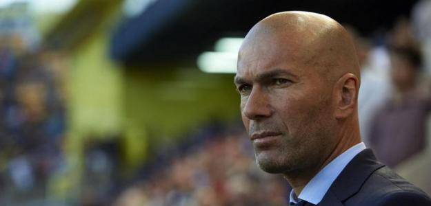 Zidane, con el Real Madrid / twitter