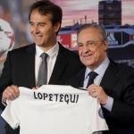 Lopetegui y Florentino (EFE)