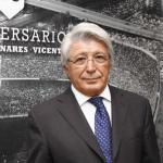 Enrique Cerezo, en un acto del club / Atlético de Madrid.