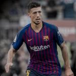 Lenglet, durante un partido (FC Barcelona)