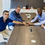 Valverde, Segura, Abidal y Planes (FC Barcelona)