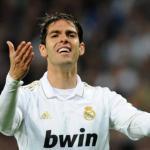 Kaká se lamenta durante un partido (Real Madrid)