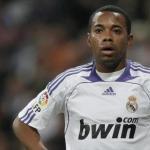 Robinho en un partido con el Madrid / Youtube
