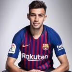 Munir El Haddadi, en una imagen oficial (FC Barcelona)