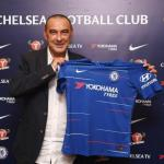 Sarri, el día de su fichaje (Chelsea FC)