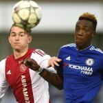 De Ligt y Abraham, durante un partido (UEFA)