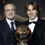 Florentino Pérez y Luka Modric / Real Madrid.