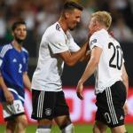 Wagner y Brandt, con Alemania (UEFA)