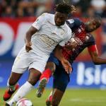 Saint-Maximin, durante un partido del Niza (UEFA)
