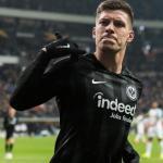 Jovic, con el Eintracht (UEFA)