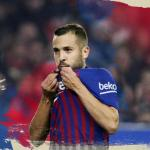 Imagen para anunciar la renovación de Jordi Alba / Barça